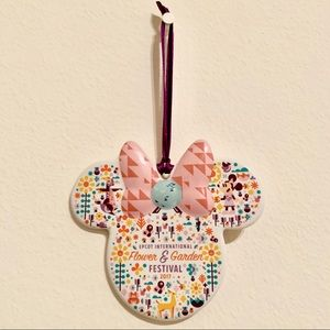 2017 Epcot Flower and Garden Ceramic Ornament